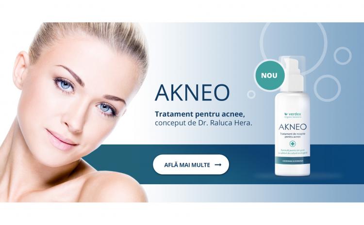 Tratament pentru acnee - Akneo