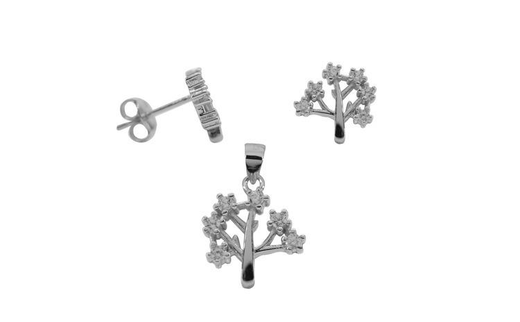 Set Argint 925 Copac cu Zirconiu