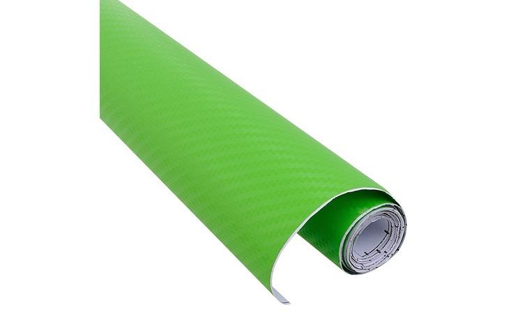 Rola folie carbon 3D verde latime 1.27m