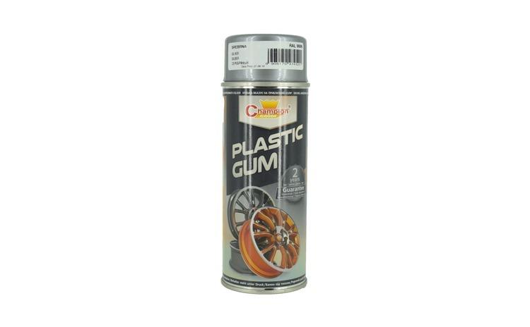 Spray vopsea cauciucata ARGINTIU RAL