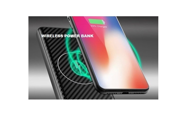 Baterie externa Wireless 10000 mAh