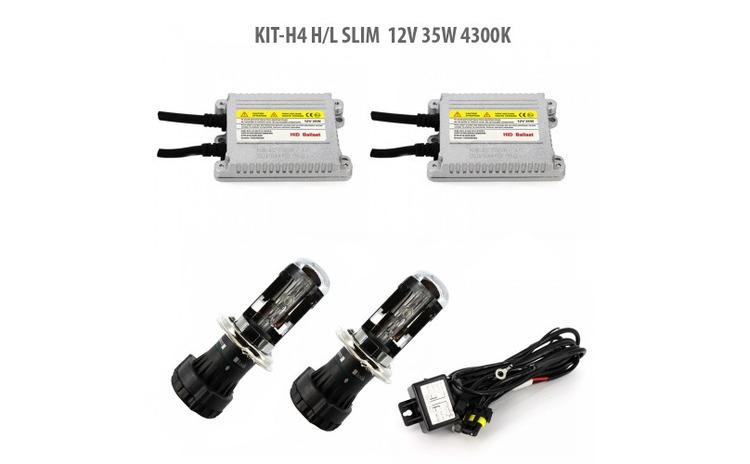 H4 H/L SLIM  12V 35W 4300K