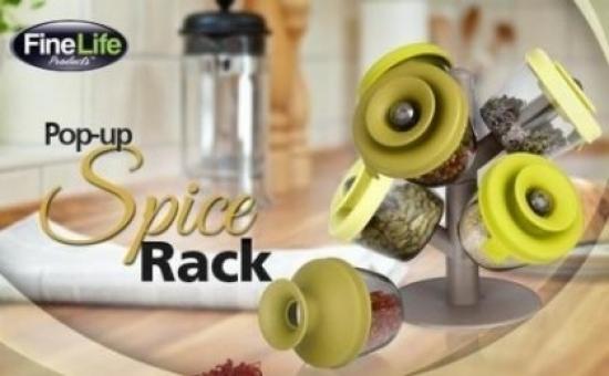 Suport Condimente Pop-up Spice Rack  La 28 Lei In Loc De 79 Lei