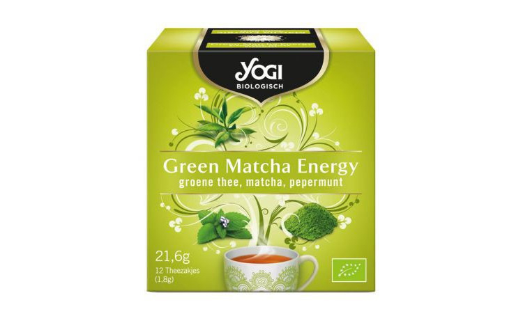 Ceai BIO Green Matcha Energy, 21,6g Yogi