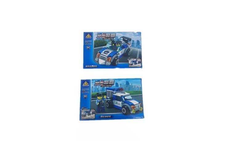 Set Puzzle 2 in 1, Kazi Police
