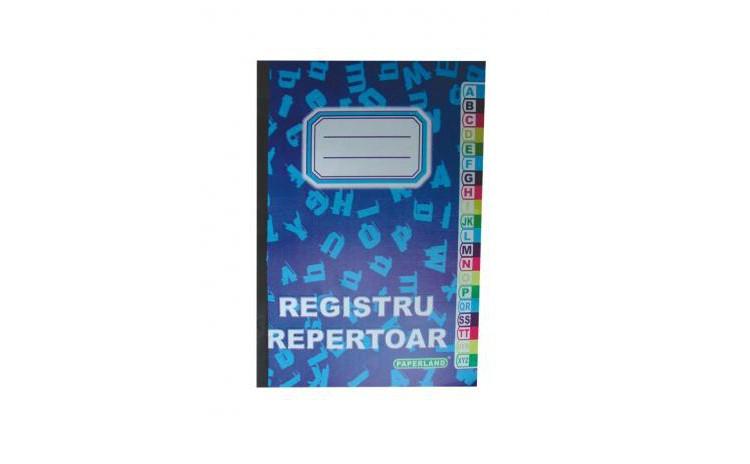 Registru Repertoar A4 Patratele 100 File