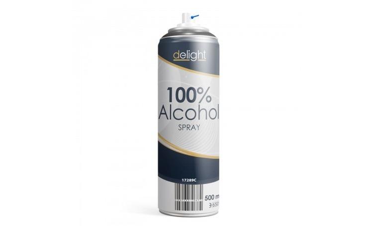 Spray Alcool 100% - 500 ml