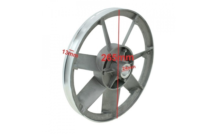 Fulie cap compresor 2065 2x65mm B-AC0026