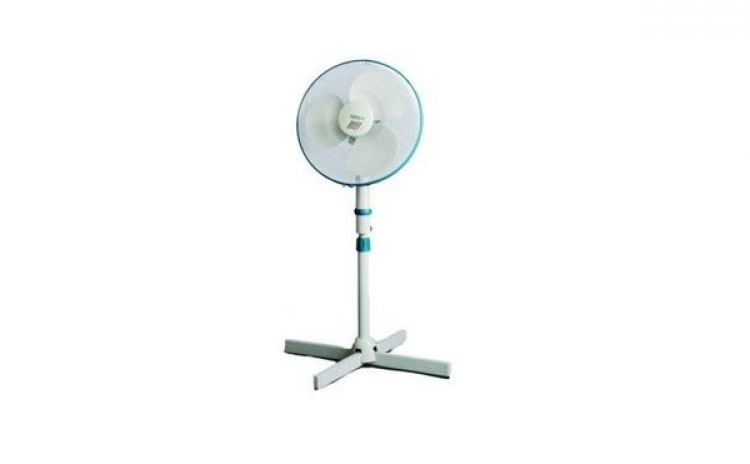 Imagine indisponibila pentru Ventilator cu picior Hausberg HB5100, 40 cm, 3 viteze, alb, la doar 141 RON in loc de 199 RON