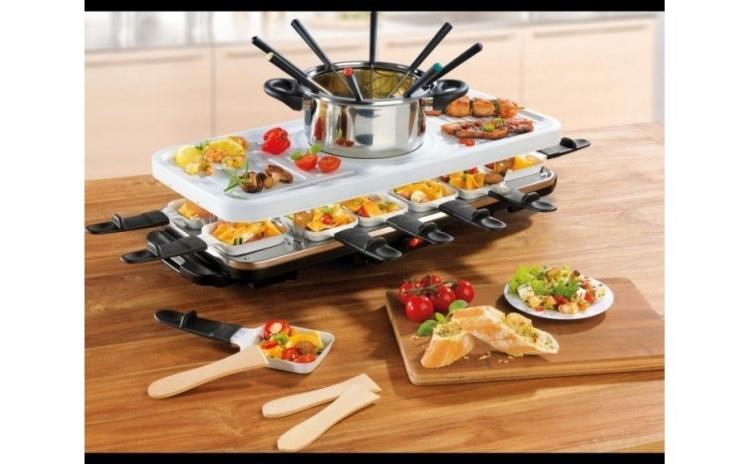 gratar raclette si fondue set gourmetmax arhivat. Black Bedroom Furniture Sets. Home Design Ideas