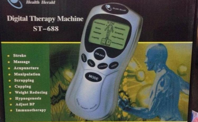 Aparat digital de masaj si terapie/acupunctura/stimulare