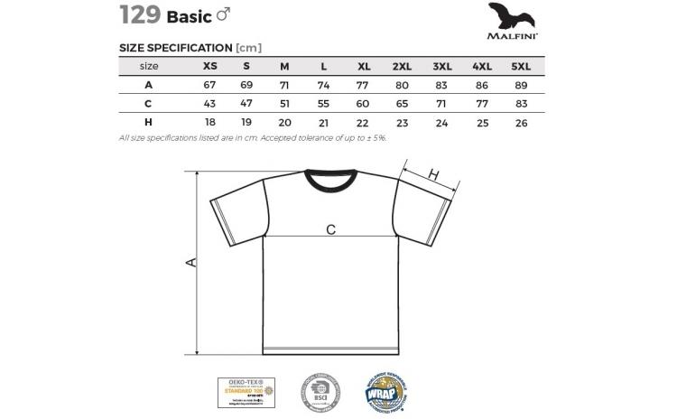 Tricou basic din Bumbac 100% + sapca, marimi 3XL si 4XL