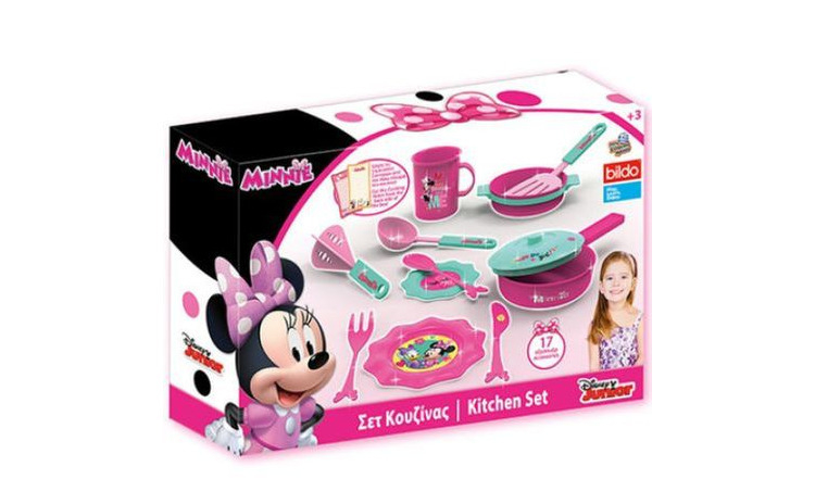 Set bucatarie Minnie Mouse de la Disney,