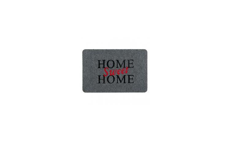 """Covor de usa, Gri, """"Home Sweet Home"""""""