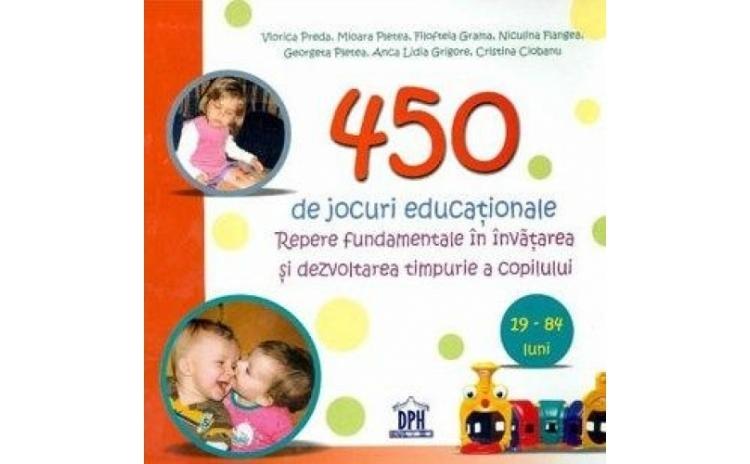 450 de jocuri educationale, autor Viorica Preda