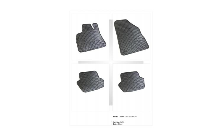 Covoare cauciuc Citroen DS5 2011->