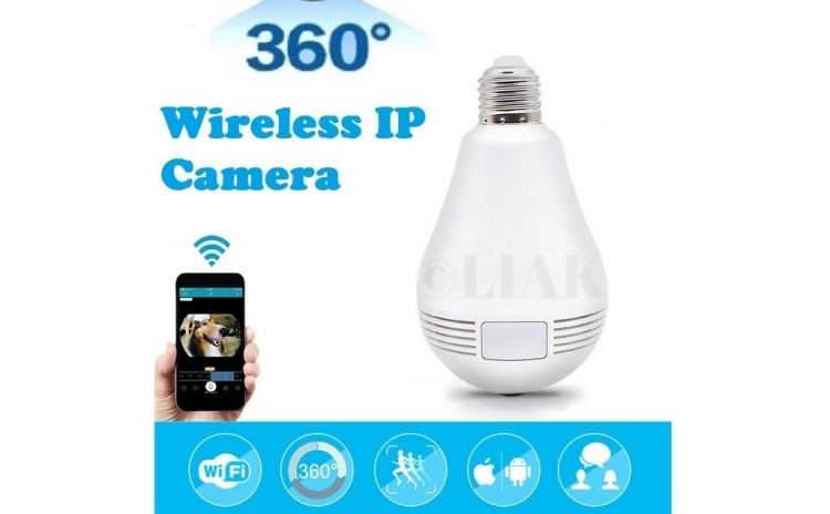 Camera De Supraveghere In Bec - Ip Wireless Hd 960p, Panoramica 360 Grade, Cu Stocare Pe Card