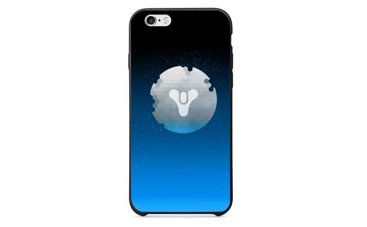 Husa Destiny Logo Blue Background APPLE Iphone 6