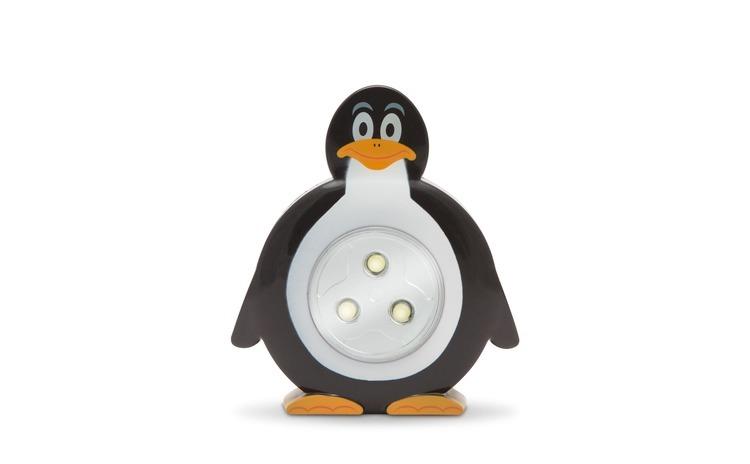 Lampă de veghe cu buton, model