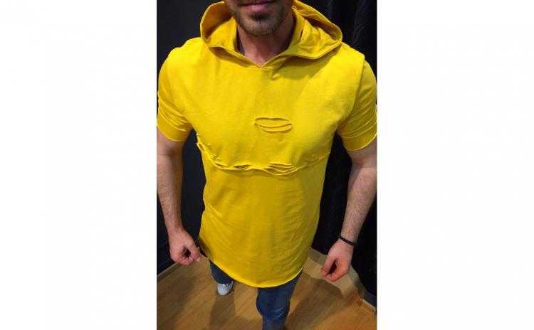 Tricou barbati galben