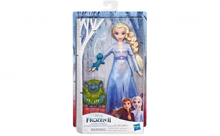 Papusa Frozen Elsa cu prietenii