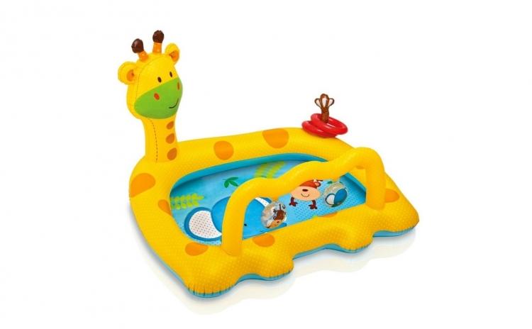 Piscina gonflabila Girafa