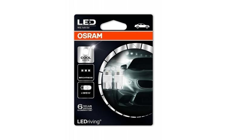 OSRAM LEDriving®coolwhite W5W 6000K