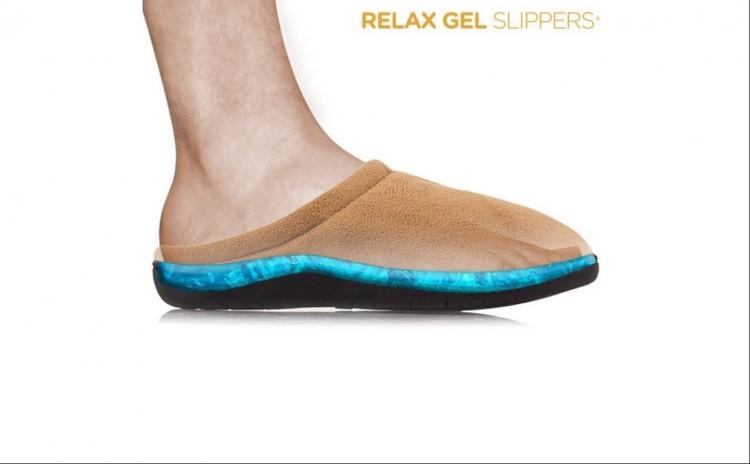 Papuci de Casa Relax Gel. Descoperiti confortul maxim cu papucii de casa Relax Gel