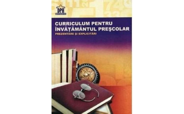 Curriculum pentru invatamantul prescolar, autor Silvia Borteanu