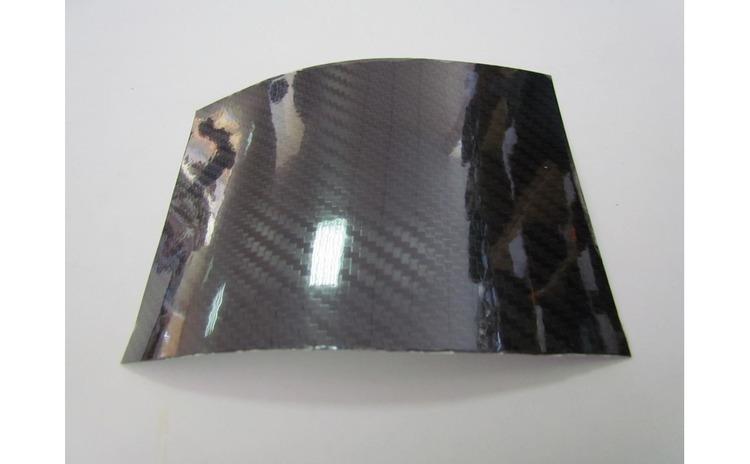 Folie carbon 5D negru lucios 1 5 x 1m