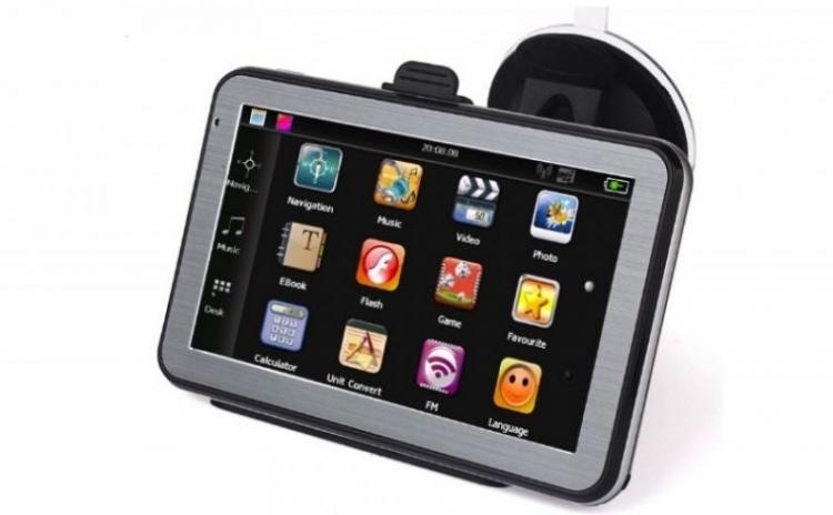 GPS auto cu bluetooth in limba romana cu handsfree si functii de tableta: incarci muzica, video, ebook, poze la doar 449 RON in loc de 899 RON! Garantie 12 luni!