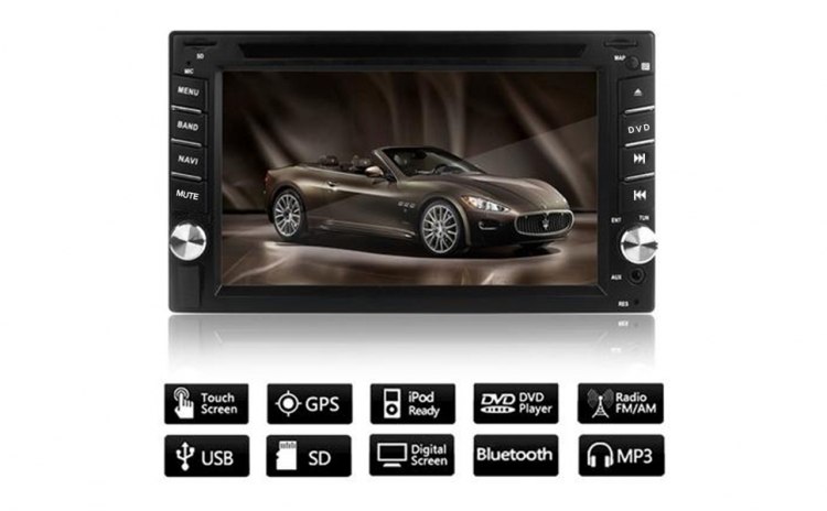 CD-DVD Player auto cu GPS + TV Tunner