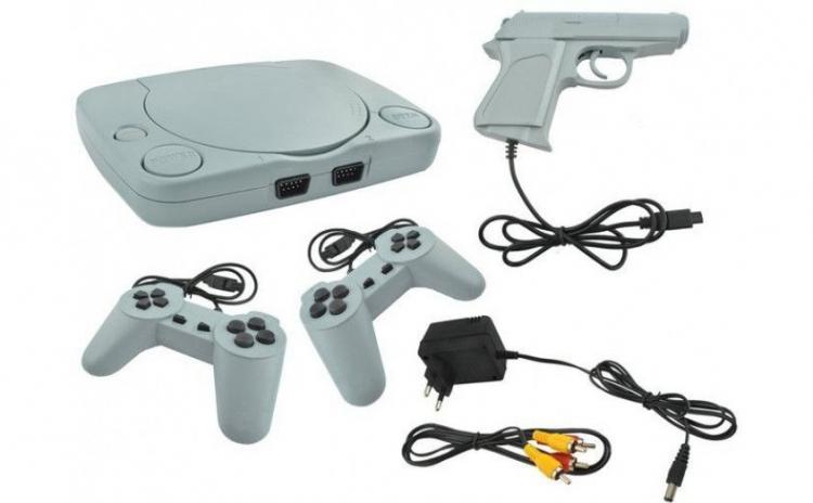 Consola pentru jocuri pe televizor