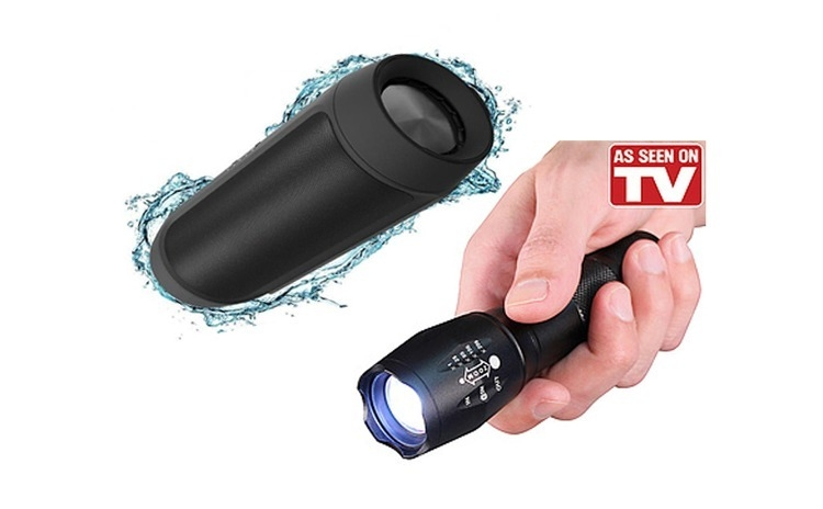 Boxa Bluetooth 15W + Lanterna