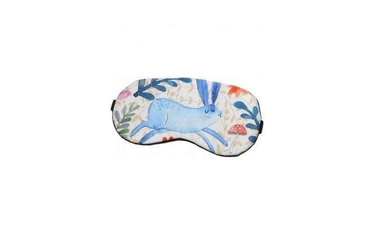Masca de dormit din satin, model Bunny,