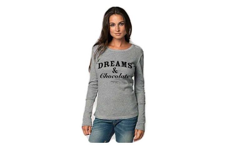 Bluza Dreams & Chocolate - Gri