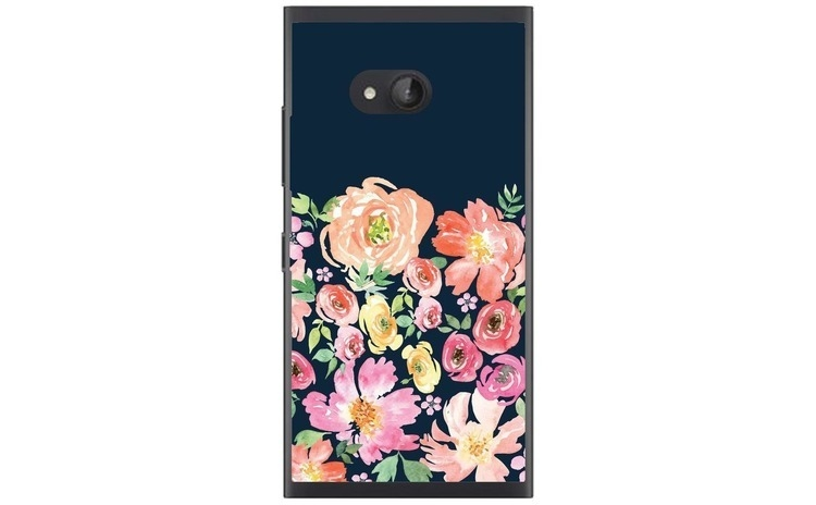 Husa Floral Painting Background Nokia Lumia 730 735