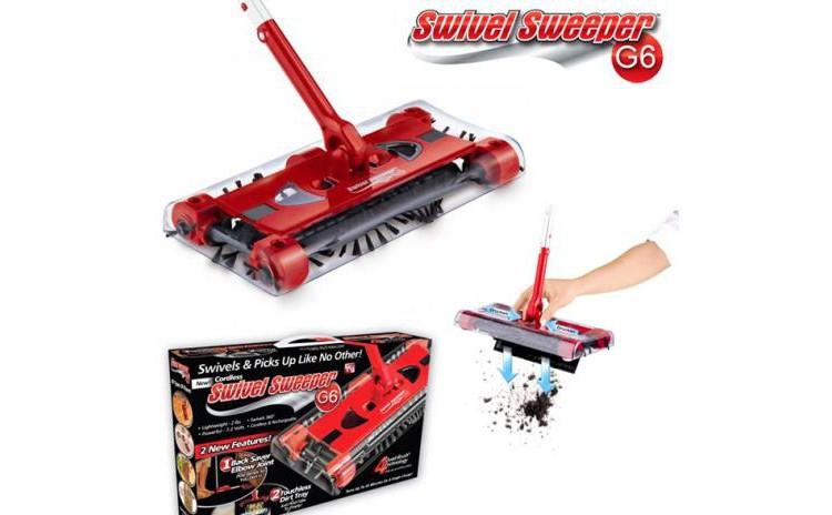 Matura electrica Swivel Sweeper G6
