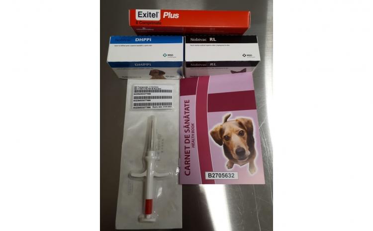 Vaccinare anuală la câini