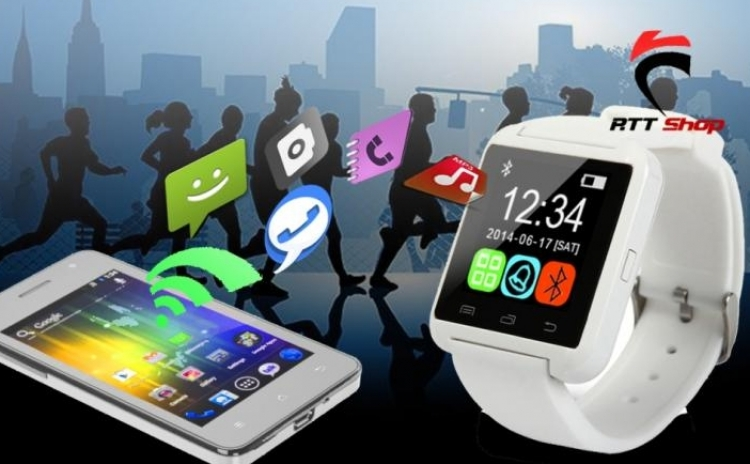 Smartwatch Mtk Alb Bluetooth Pentru Telefoane Android, La Doar 299 Ron De La 620 Ron
