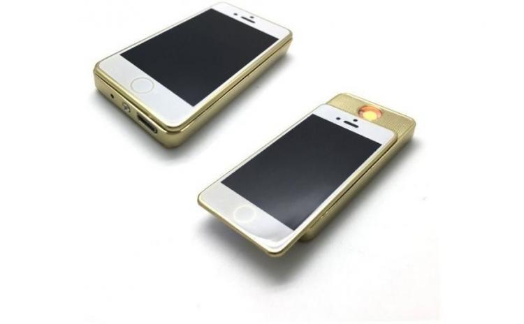 Bricheta anti vant, in forma de iPhone
