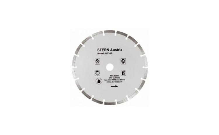 Disc diamantat Stern D180S pentru