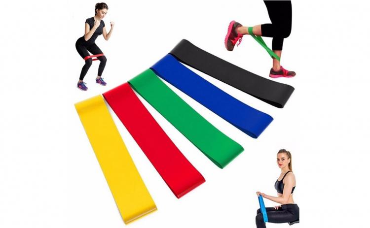 Set antrenament, 5 benzi elastice