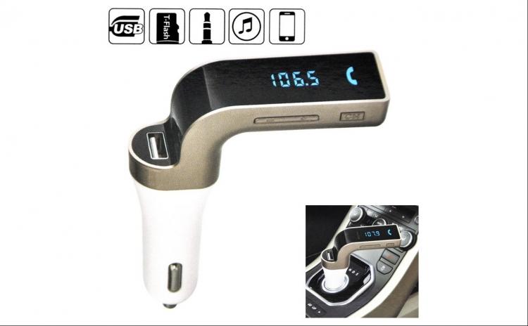 Modulator FM Hands Free Bluetooth Gadget