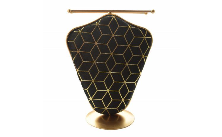 Organizator metalic Pufo Golden Velvet