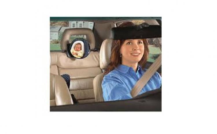 Oglinda auto bebelus