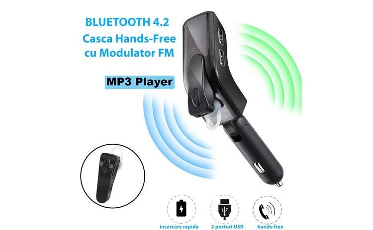 V9 - Casca Telefon Mobil cu Bluetooth