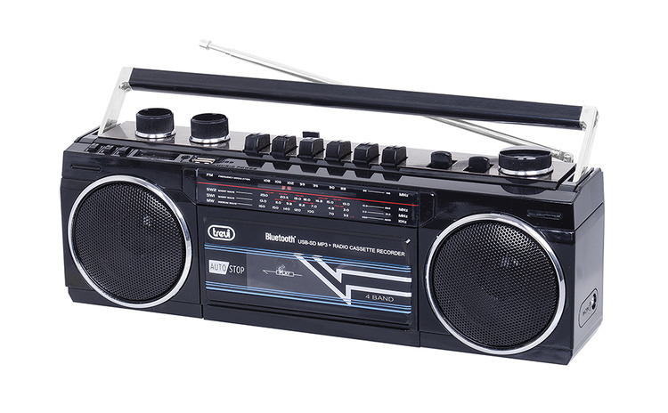 Radiocasetofon portabil RR 501 BT FM,