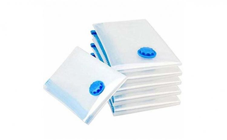 Set 10 saci pentru vidat haine, 60x80 cm