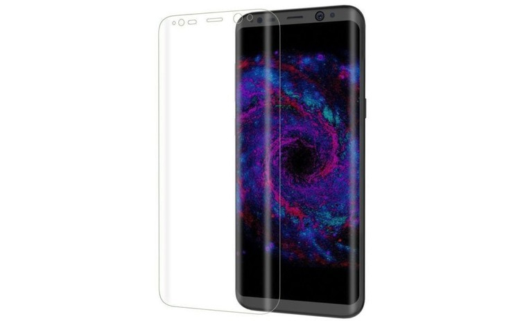 Folie Sticla Curbata Samsung Galaxy S8 Flippy Transparent